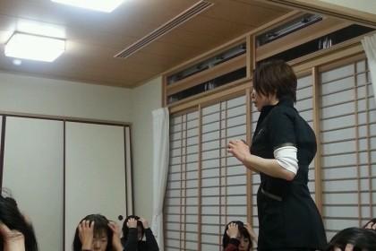 56会 セルフヘッドマッサージ講座 ikegami H28.3.18.1