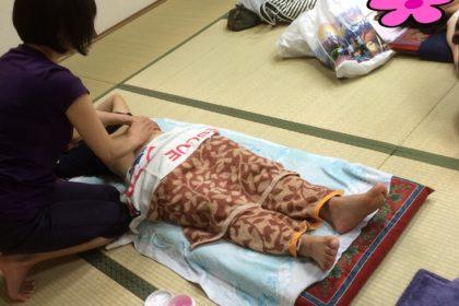 ふくりんぱ ジェルを使った腹部マッサージ方法  takahasi H28.7.22.3