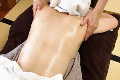 ふくりんぱ 背面トリートメントの復習と腋窩リンパ節のケア方法  hisanaga H28.8.25.4.1