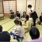 顔のリンパトリートメントの復習《くるりんぱ》5/25