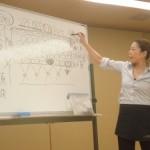 福岡56会「デコルテ&リンパフェイスの復習と、ジェルを使ったポイントパック、ローションパック」