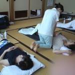 腹部と脚のリンパトリートメントの復習:9/20 きたりんぱ
